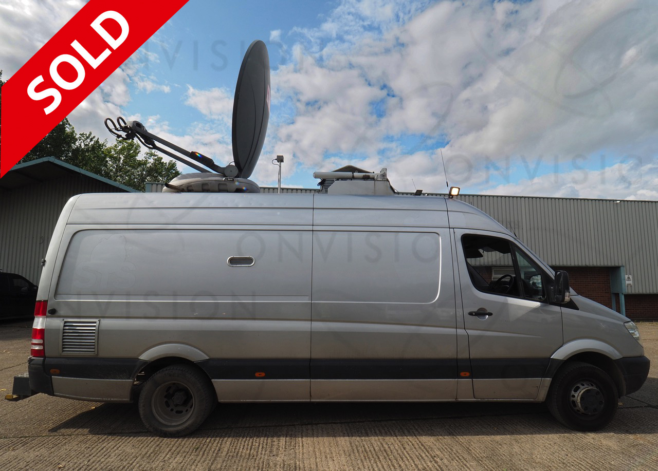 Fully Redundant HD DSNG 1+1 with 1.8m Antenna Spectra UK built SOLD