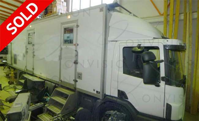 8 Camera 9.5m rigid  SD Ooutside Broadcast Unit - Left Hand Drive   SOLD