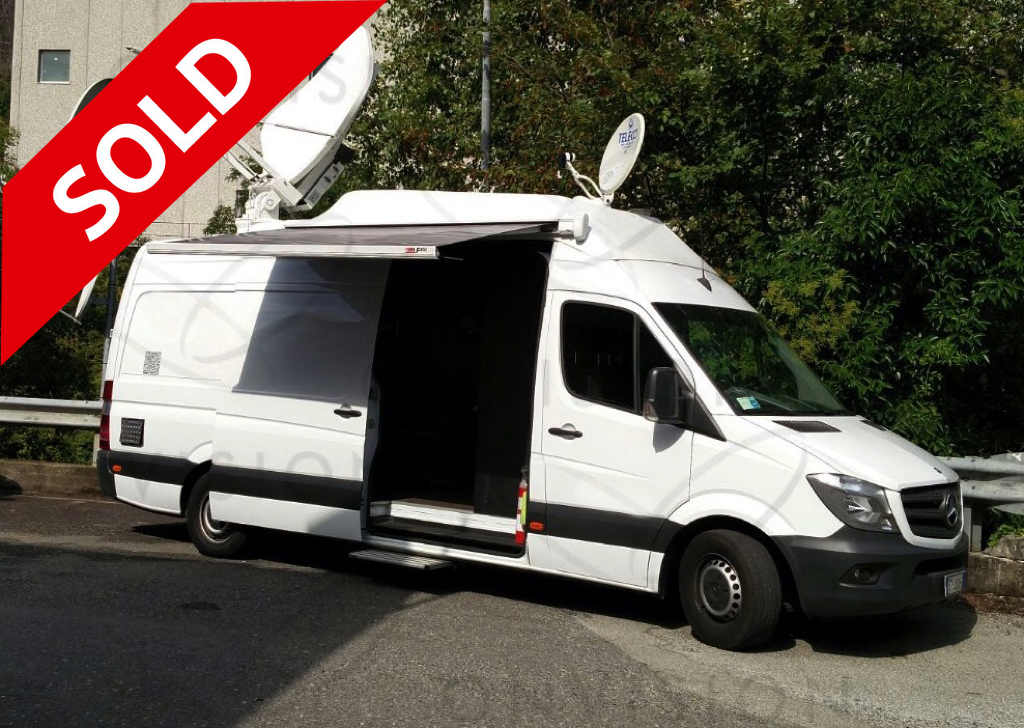 KU Band HD DSNG - OB 1.5m Antenna - 3 Sony Cameras and VTR Left Hand Drive SOLD
