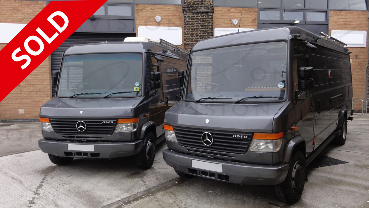 6-8 Camera HD OB and Tender Van - UK Right Hand Drive SOLD