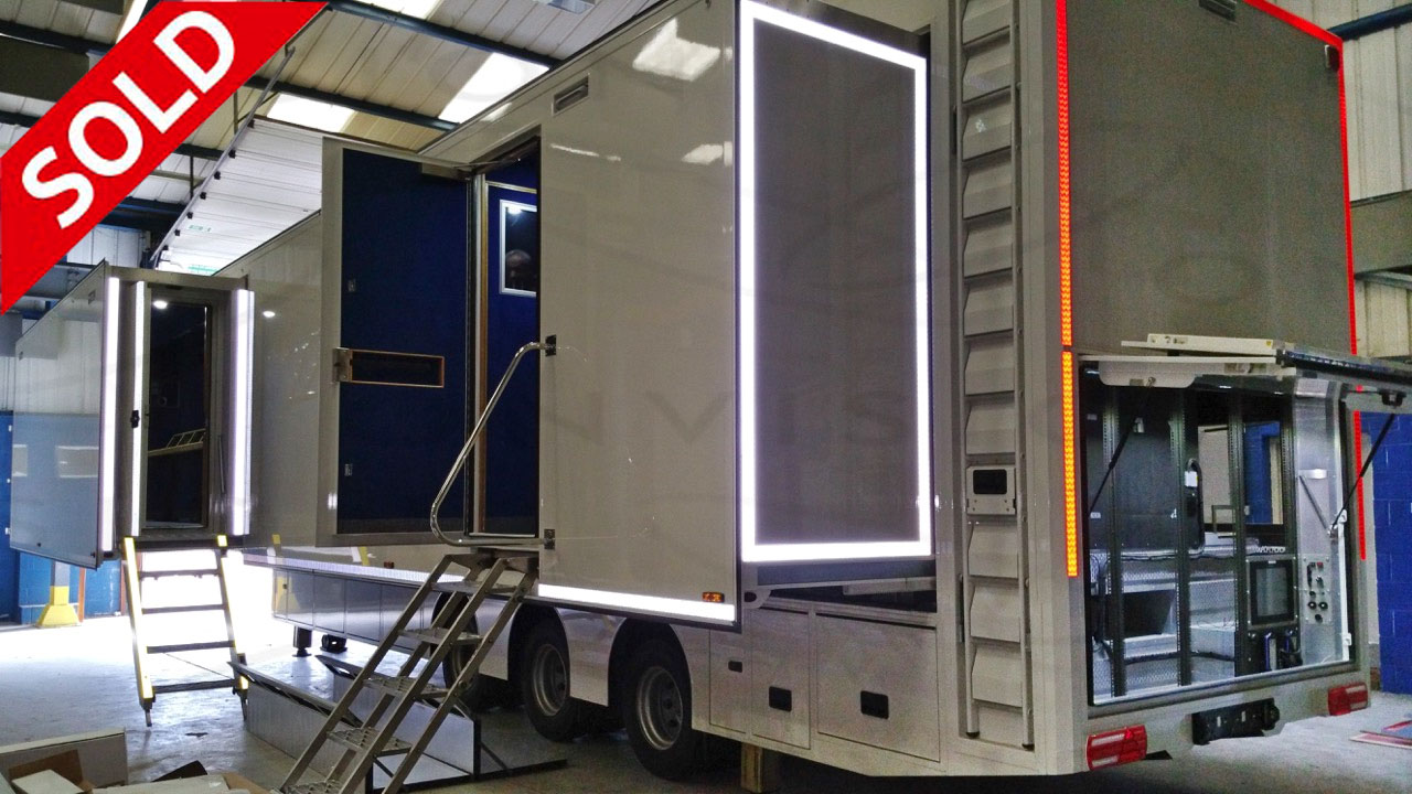 Brand new Triple Expanding Outside Broadcast Trailer SOLD