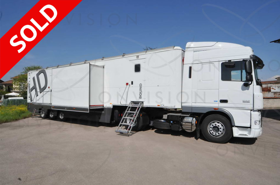 Single Expanding OB Trailer  SOLD