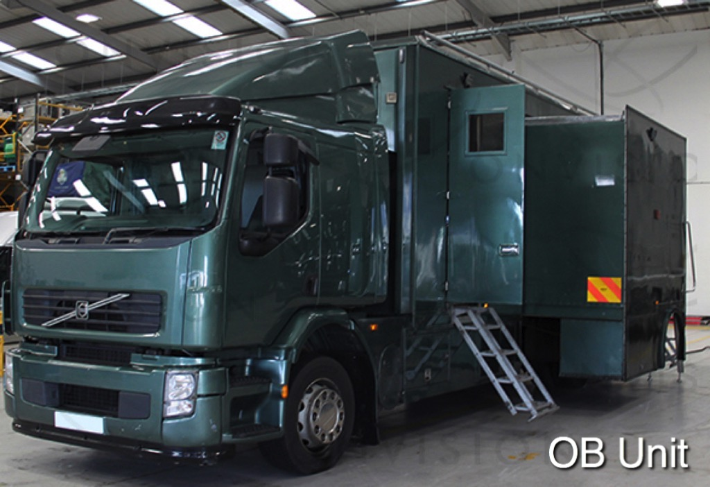 11.4m 12 Cameras Expanding HD OB with Tender Van - UK Right Hand Drive