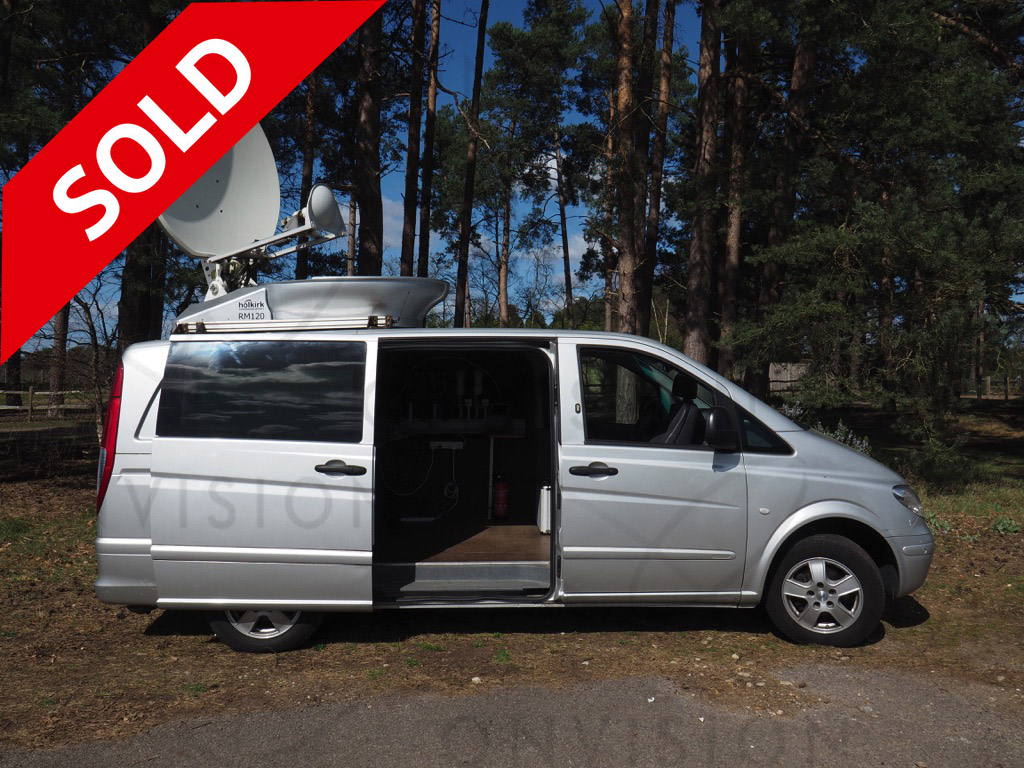 KU Band HD DSNG dual path Left Hand Drive SOLD